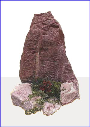 Ruby red graniet